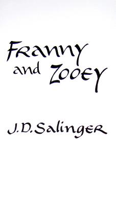 FRANNY AND ZOOEY(A)