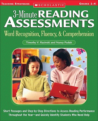 3-Minute Reading Assessments Grades 1-4 Word Recognition Fluency & Comprehension